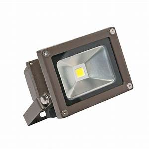 Irradiant head bronze led soft white outdoor wall mount