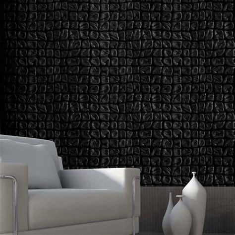 papier peint aspect cuir maison design hompot