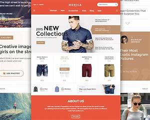 creative fashion ecommerce website template free psd With e commerce sites templates