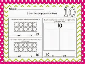 Decomposing Numbers Worksheets