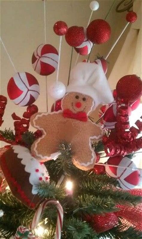 gingerbread tree topper christmas obsession