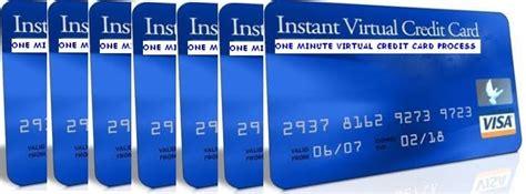 create   virtual credit cards