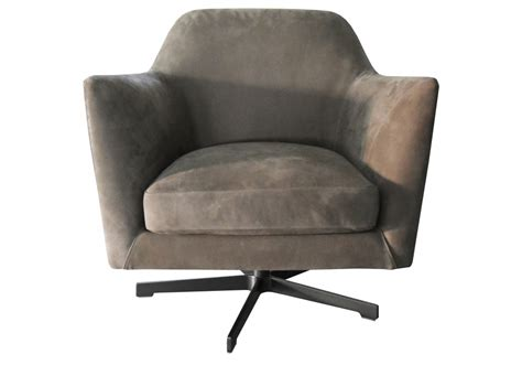 Luce Flexform Swivel Armchair