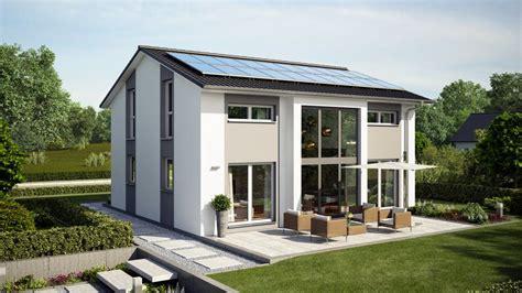 Moderne Häuser Mit Grossen Fenstern by Moderne H 228 User Haus Hamburg Putzfassade Gartenansicht