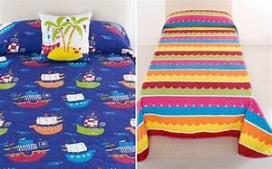 Colchas infantiles con las que renovar la cama este verano