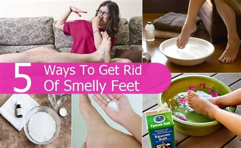 How To Get Rid Of Smelly Feet  Top Diy Health & Home Remedies