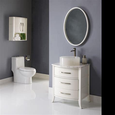 large bathroom wall cabinet decolav 24 quot lola bathroom vanity white solid wood legs