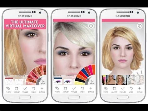 modiface makeup  android app  youtube