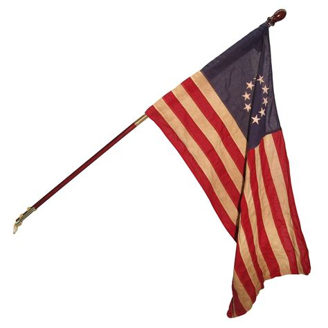 valley forge betsy ross  star heritage series flag kit