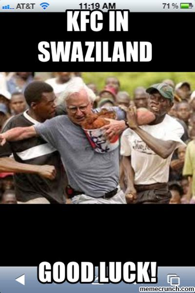 Kfc Meme - kfc in swaziland