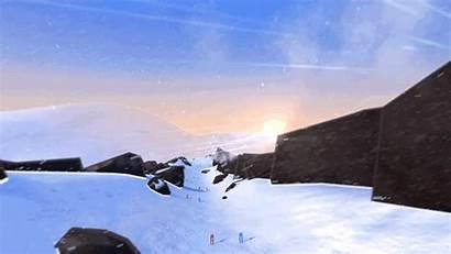 Alps Descent Mountain
