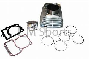200cc Scooter Moped Cylinder W Piston Kit Parts For Honda Cg200 Engine Motor