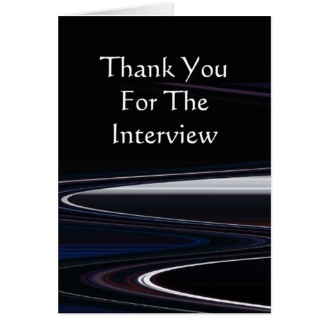 Thank You For The by Thank You For The Card Zazzle