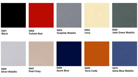 silver color code in paint services reference center color charts 356 1950 1965 5406 cpr classic