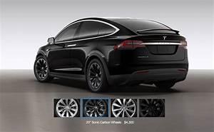 Tesla Modele X : tesla model x gets a 20 sonic carbon wheel and center ~ Melissatoandfro.com Idées de Décoration
