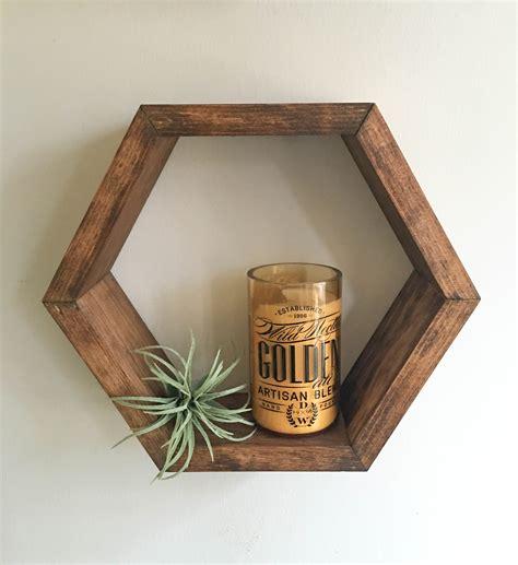 Hexagonal Wood Shelves Craftbnb