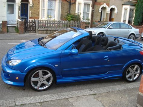 amazing peugeot 206cc 2001 peugeot 206 2 0 gti convertible amazing kit