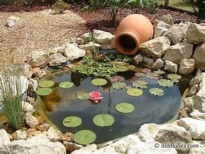 Fontaine Pour Bassin A Poisson : plantes pour bassins ext rieurs bassin de jardin de la conception la r alisation bassin ~ Voncanada.com Idées de Décoration