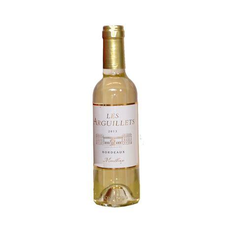 bordeaux blanc moelleux quot les arguilets quot 75 cl vin