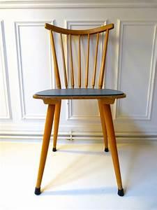 Chaise Bois Vintage : chaise vintage bois et ska triptyque co ~ Teatrodelosmanantiales.com Idées de Décoration