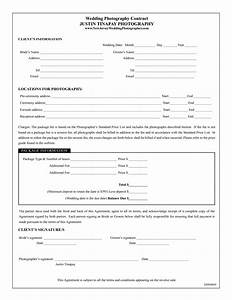 photography contract template wedding photography With wedding photography contract pdf