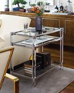 Table Salon Metal : bernhardt salon stainless steel accent table ~ Teatrodelosmanantiales.com Idées de Décoration