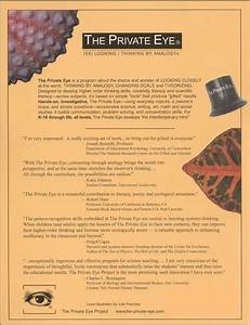 Private Eye Guide    Manual