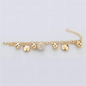 Simple Gold Bracelets For Women Designs