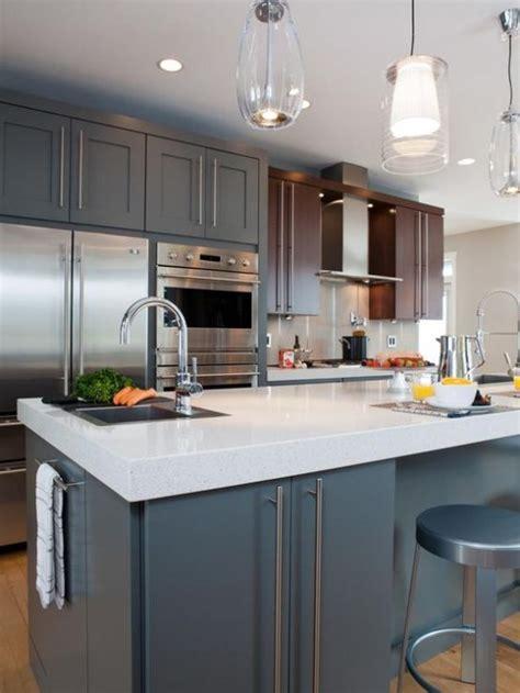 tile backsplashes for kitchens ideas 39 stylish and atmospheric mid century modern kitchen