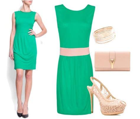 Cu00f3mo combinar un vestido verde