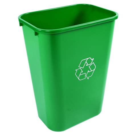 trash cans for kitchen 41 quart office recycling bin recycle away