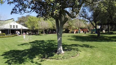 Playing on the Lawns of Klein Joostenberg in Stellenbosch ...