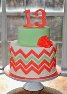 Hope's Sweet Cakes: Chevron Cake | Hope's Sweet Cakes ...