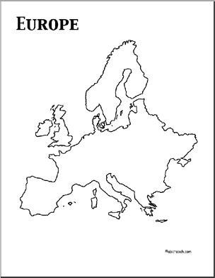 europe theme unit worksheets printables europe map