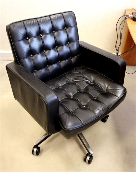 garniture de bureau en cuir fauteuil de bureau garniture de cuir avec dossier et