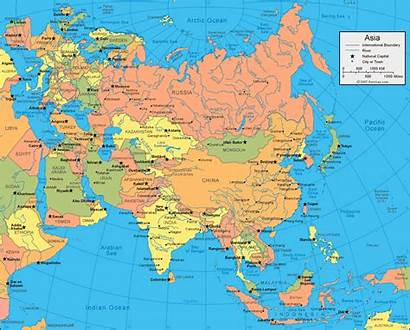 Asia Map Google Maps Europe Continents Political