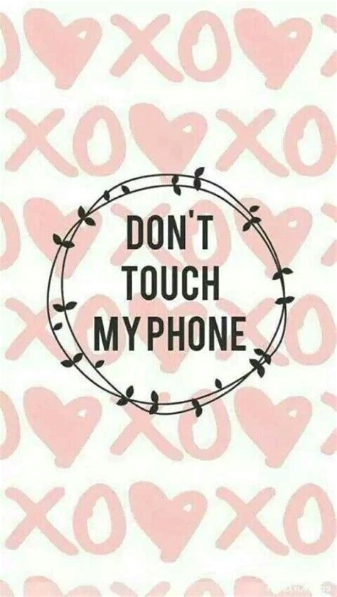 Looking for the best wallpaper dont touch my phone? Don't Touch My Phone | Dont touch my phone wallpapers, Iphone wallpaper girly, Funny iphone ...