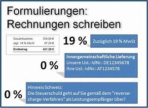 Rechnung Ins Ausland : rechnungen mit und ohne mehrwertsteuer crm software genial einfach ~ Themetempest.com Abrechnung