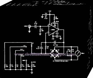 Simple Wide Band Ac Voltmeter Circuit Diagram