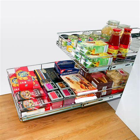pull  wire basket storage  kitchen cabinets tansel storage