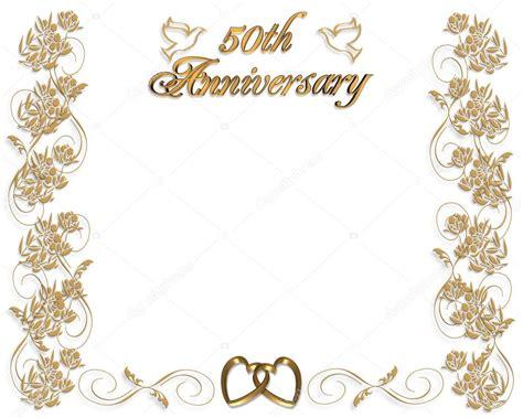 wedding anniversary invitation  years stock photo