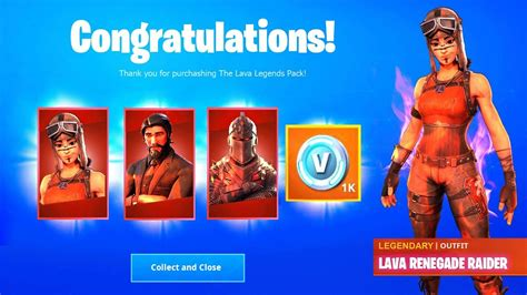 lava legends pack  fortnite battle royale