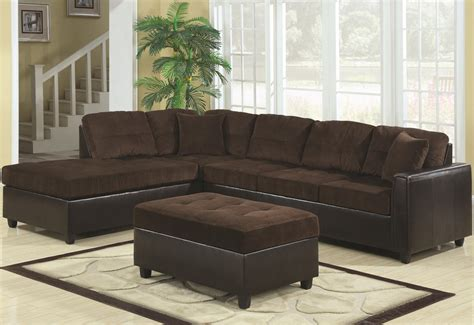 brown sectional with ottoman brown l shaped sectional couch with black leather base and