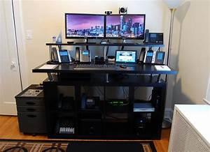 Home office standing desk jeff schertz39s blog for Home office standing desk