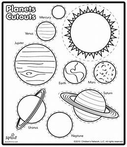 Free coloring pages of label the solar system