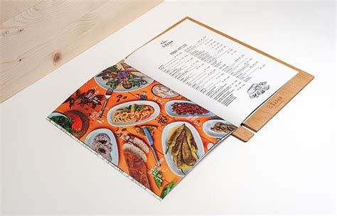 creative restaurant menu designs
