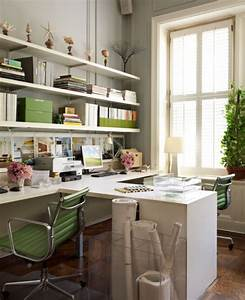 25 home office decor ideas to bring spring to your With home office designs for two