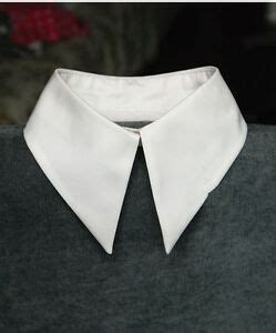 womens vintage peter pan detachable collar necklace