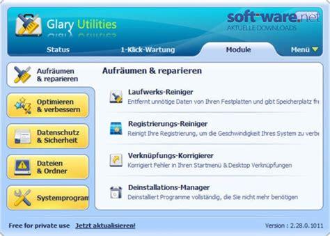 glary utilities  windows deutsch bei soft