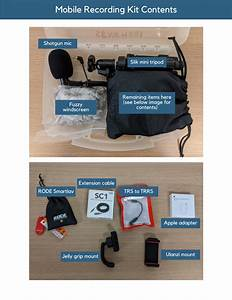 Mobile Recording Kit  U2013 Learning Design  U0026 Technology Guides